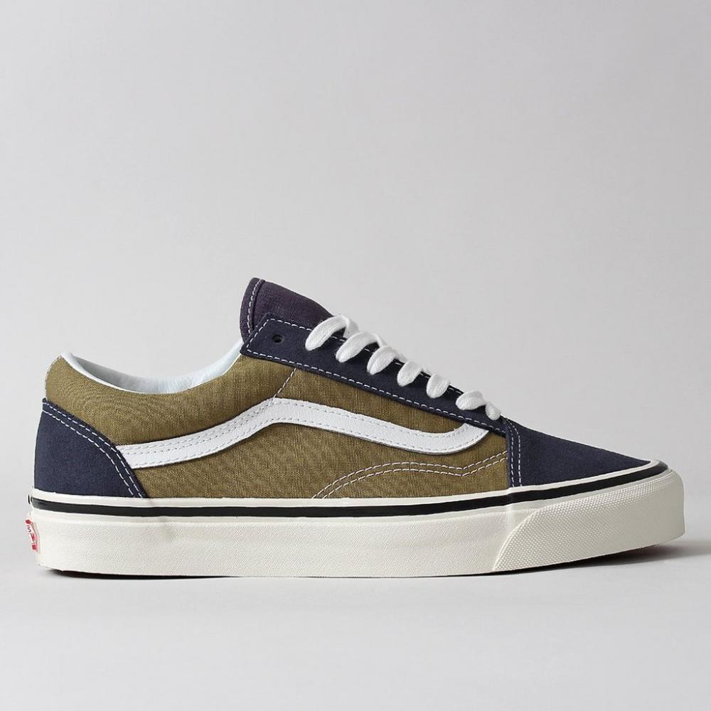 Mens Vans Old Skool - Vans Old Skool 36 DX Shoes Navy ...